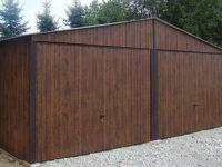 Garaż blaszany dwustanowiskowy 6x5